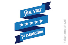 five star presentation klein